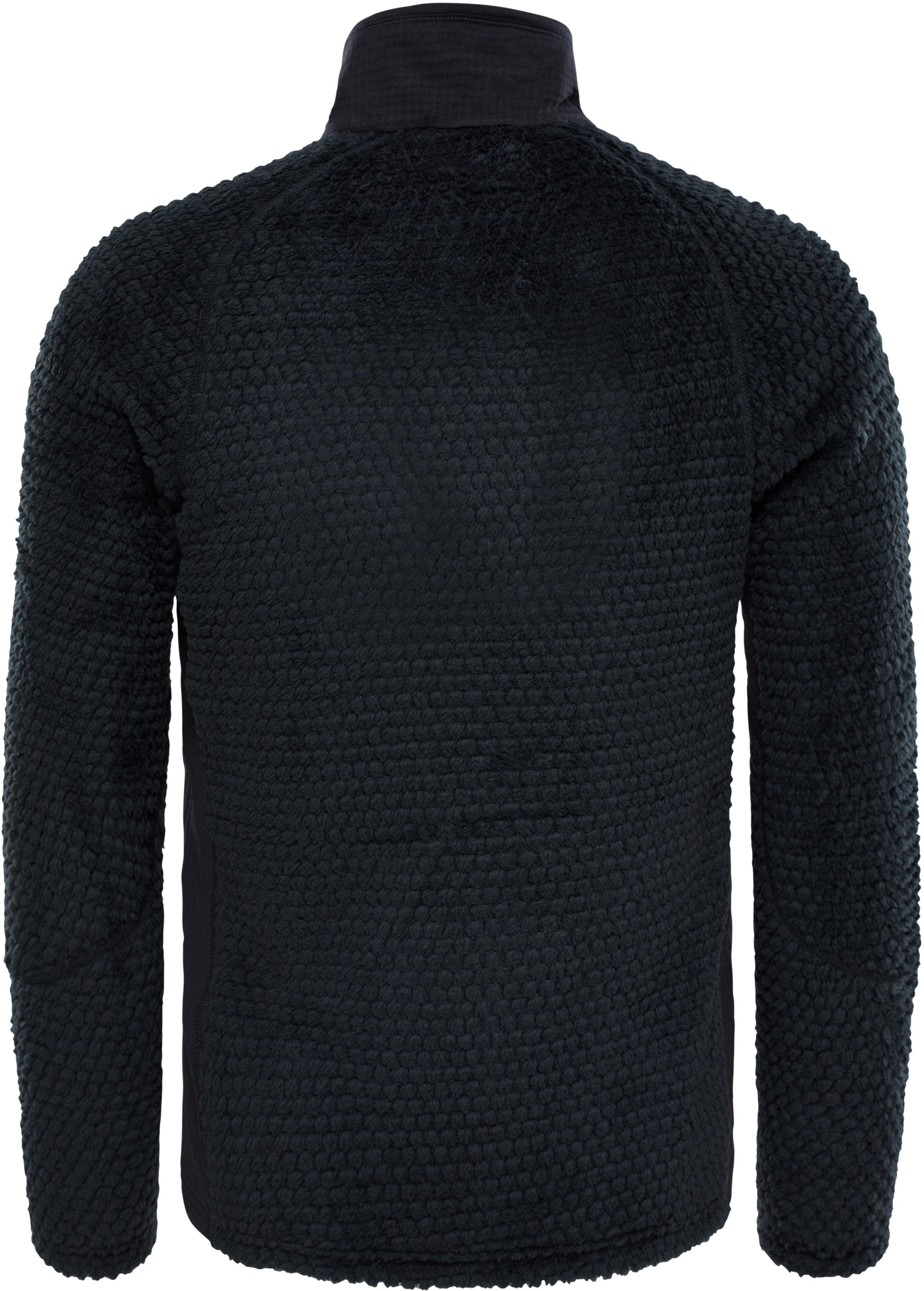 The North Face Radium Hi Loft Fleece Sweatshirt Herr Black